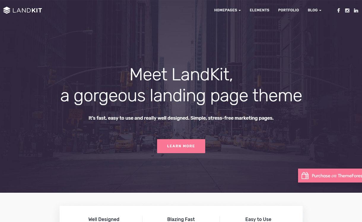 landkit-premium-wordpress-landing-page-themes