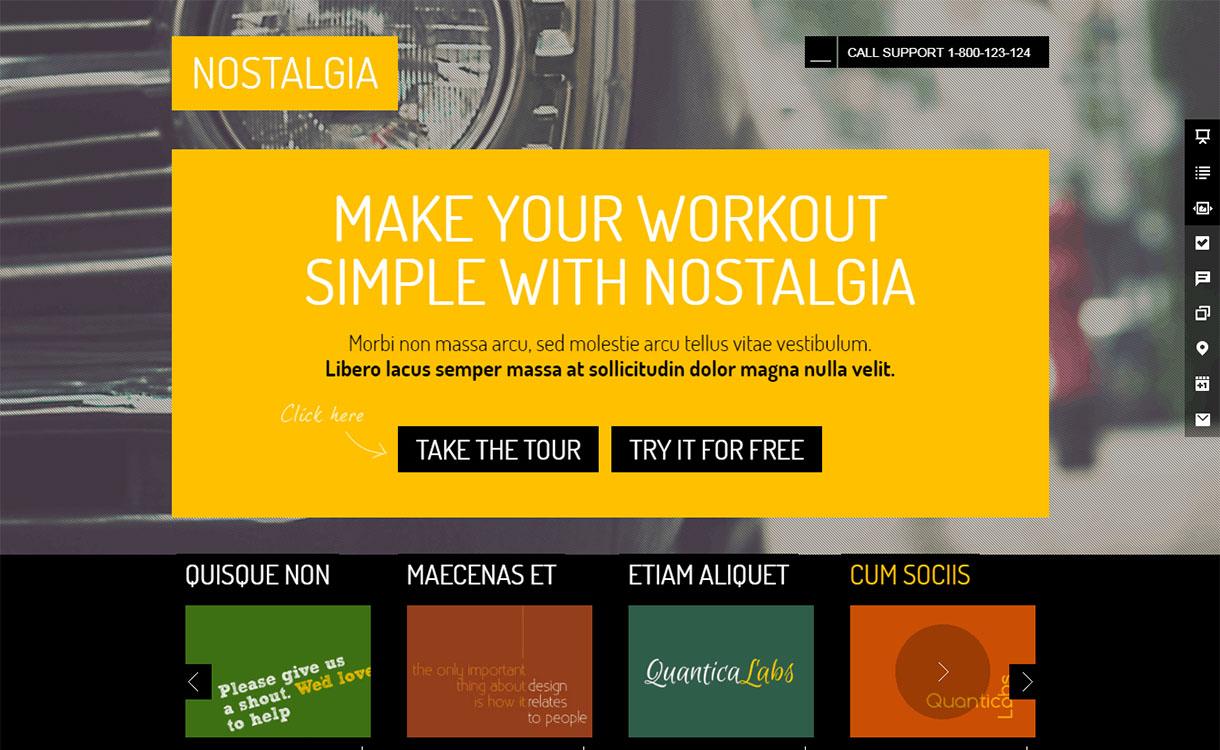 nostalgia-Landkit-premium-wordpress-landing-page-themes