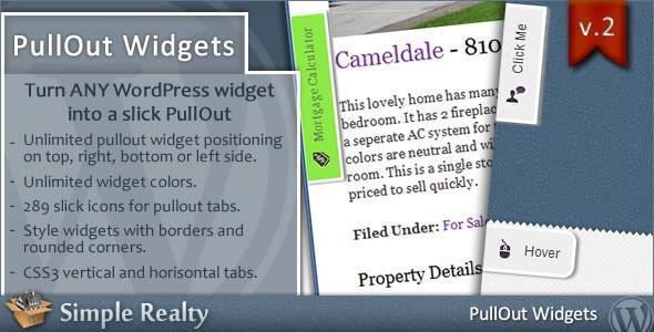 Best WordPress Floating Side Tab Plugins: PullOut Widgets