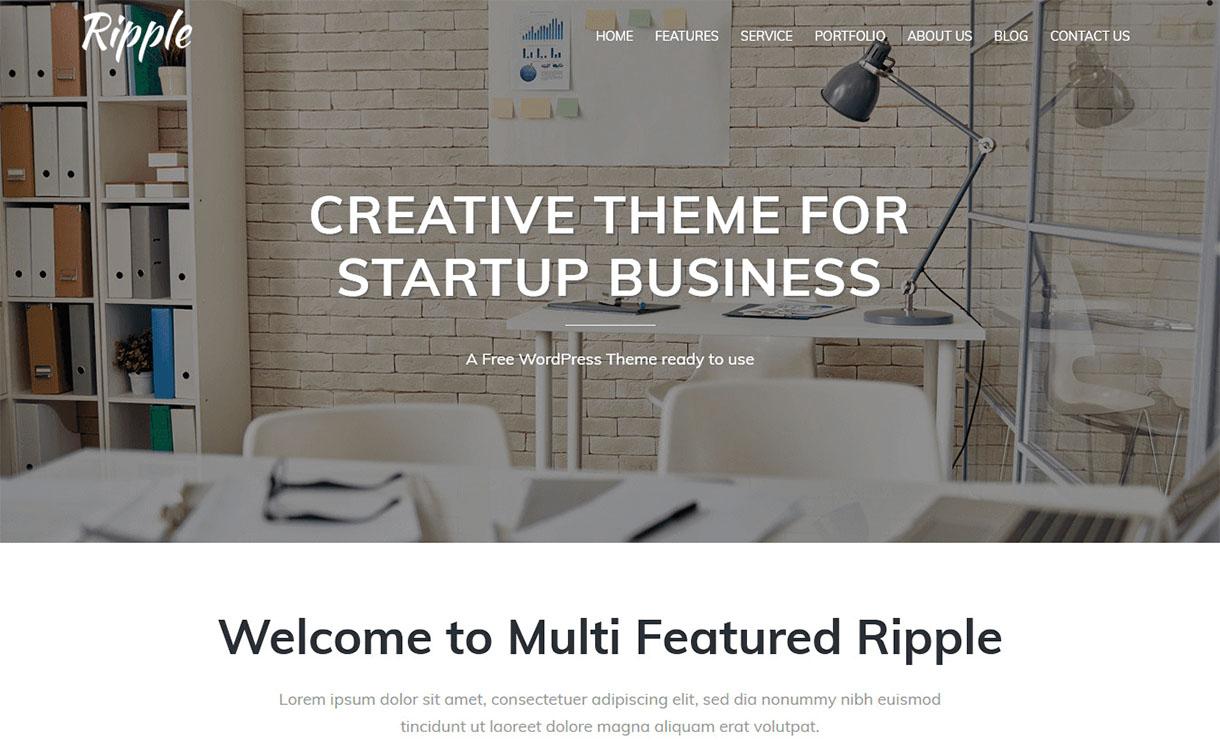 ripple-pro-best-premium-responsive-wordpress-theme