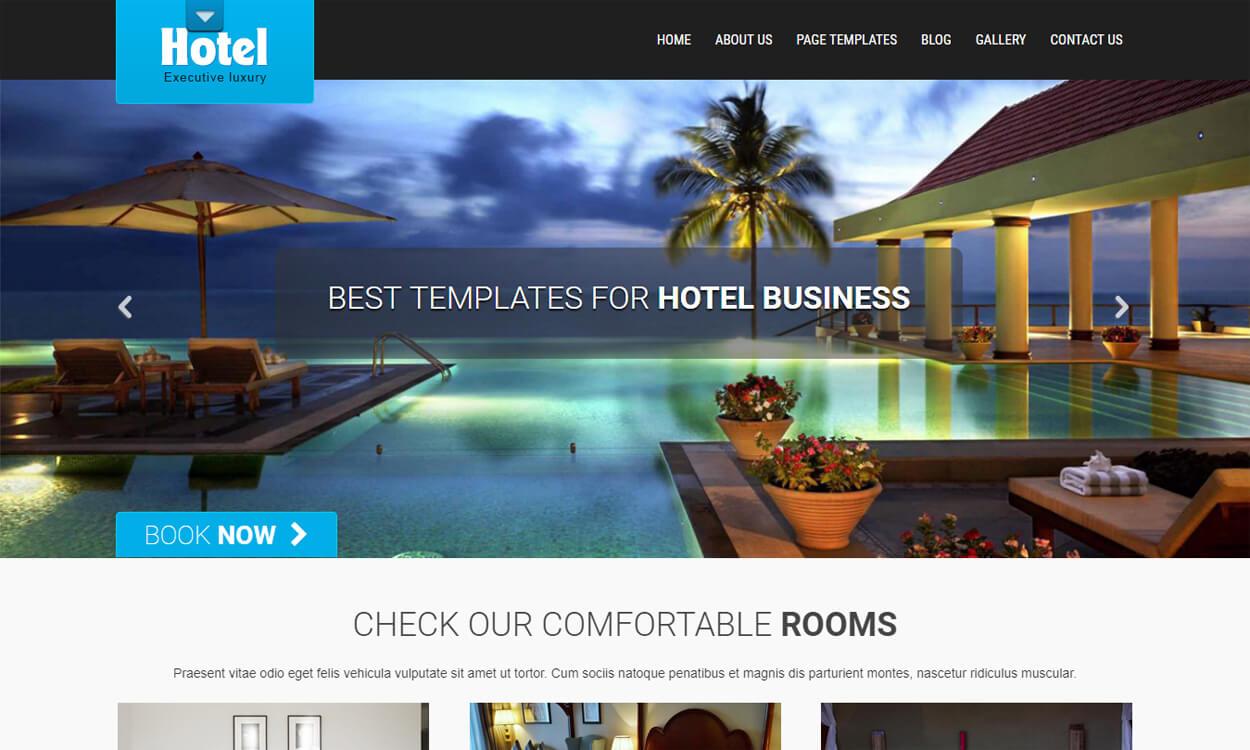 SKT Hotel Lite - Best Free Hotel Resort WordPress Themes Latest