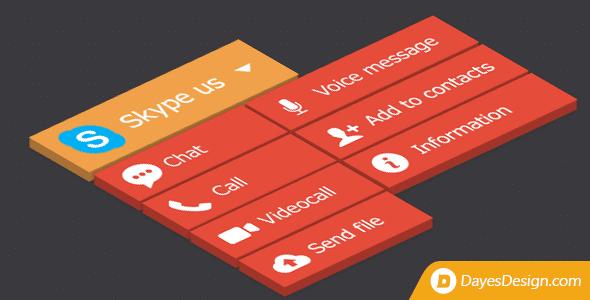 skype button - 5+ Best WordPress Skype Contact Button Plugins