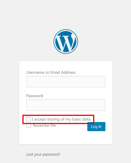 total gdpr compliance login form - How to make your WordPress Website EU GDPR Compliance? (Step by Step Guide)