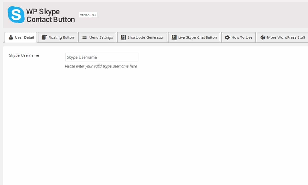 user details - How to add Skype Contact Button in your WordPress website? (Step by Step Guide)