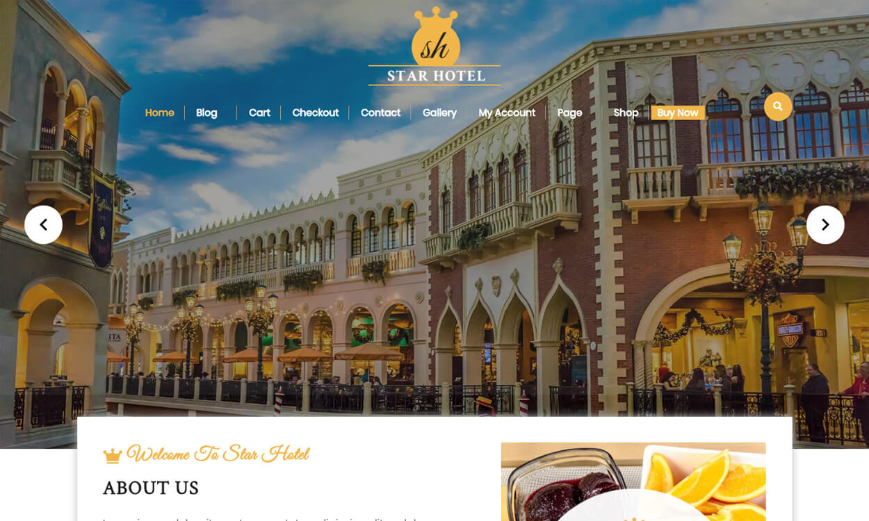 VW Hotel - Best Free Hotel Resort WordPress Themes Latest