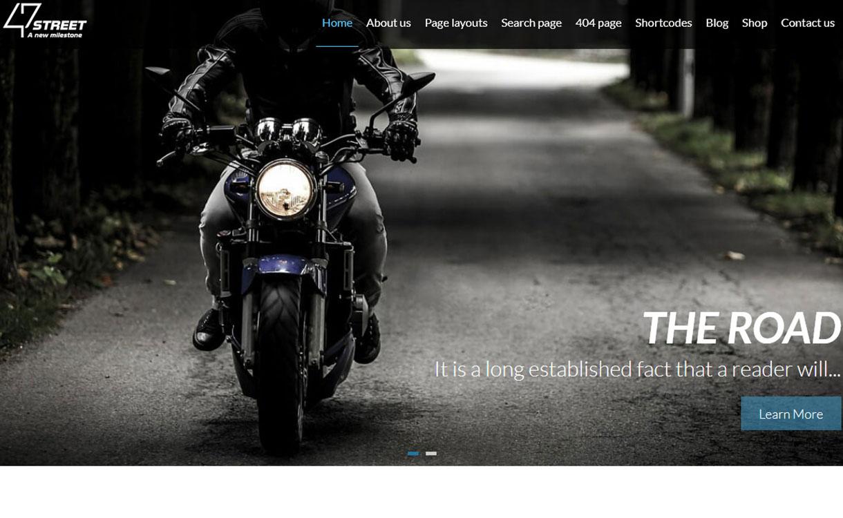 47Street - Best Premium MultiPurpose WordPress Theme