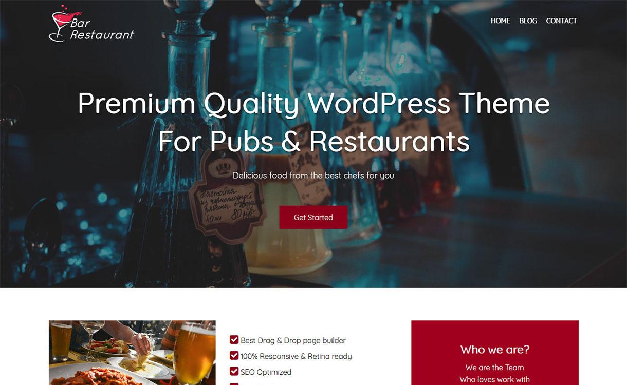 Bar-Restaurant-Best-Free-Restaurant-WordPress-Theme