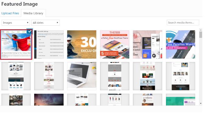 Create SEO friendly images in WordPress.