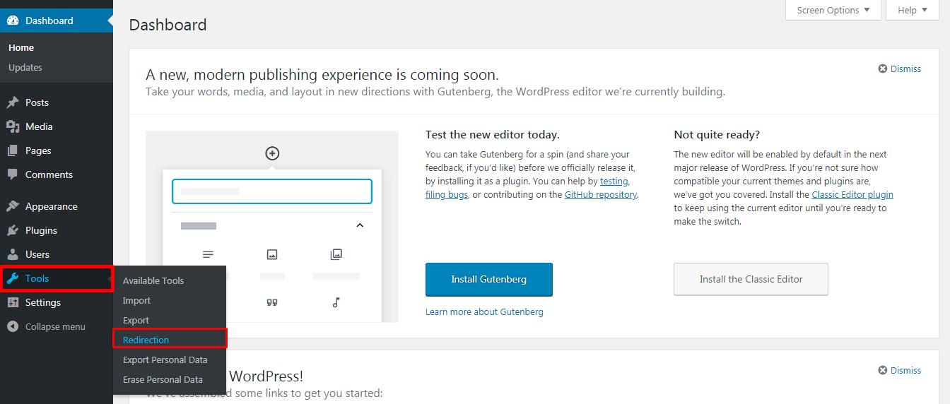 Redirecting in WordPress - How to Redirect links in WordPress?