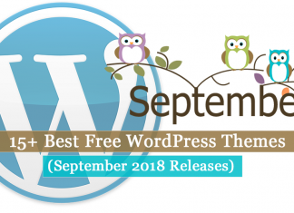 Best Free WordPress Themes September