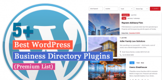 Best WordPress Business Directory Plugins (Premium List)