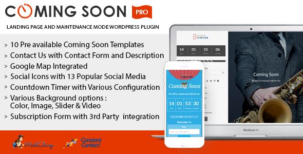 Best Coming Soon & Maintenance Mode Plugin for WordPress: Coming Soon Landing Page and Maintenance Mode