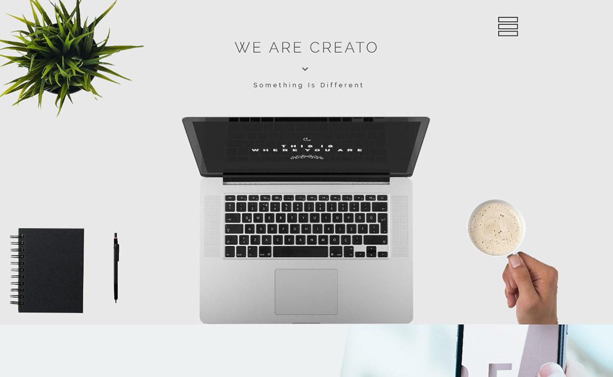 creato-best-premium-parallax-wordpress-theme