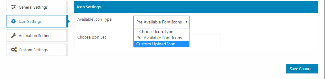 icon settings - How to Add Custom Icons in your WordPress Menu? (Step by Step Guide)