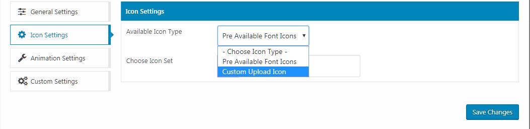 WP Menu Icons – Icon Settings