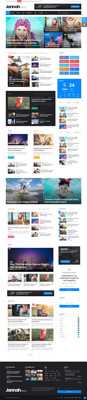 Jannah News - Best Premium Adsense Optimized WordPress Theme