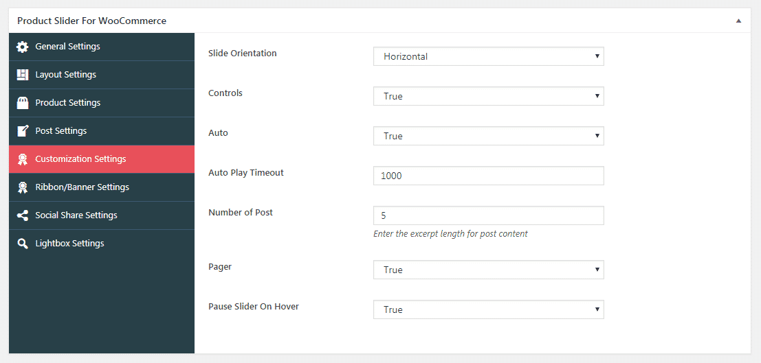 psfw customization settings - How to Add Beautiful WooCommerce Product Slider on your WordPress Website? (Step by Step Guide)