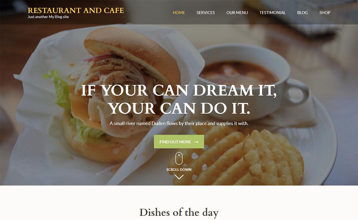 restaurant-cafe-best-free-restaurant-wordpress-theme