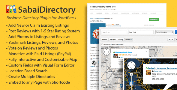 sabai directory - 5+ Best WordPress Business Directory Plugins (Premium List)