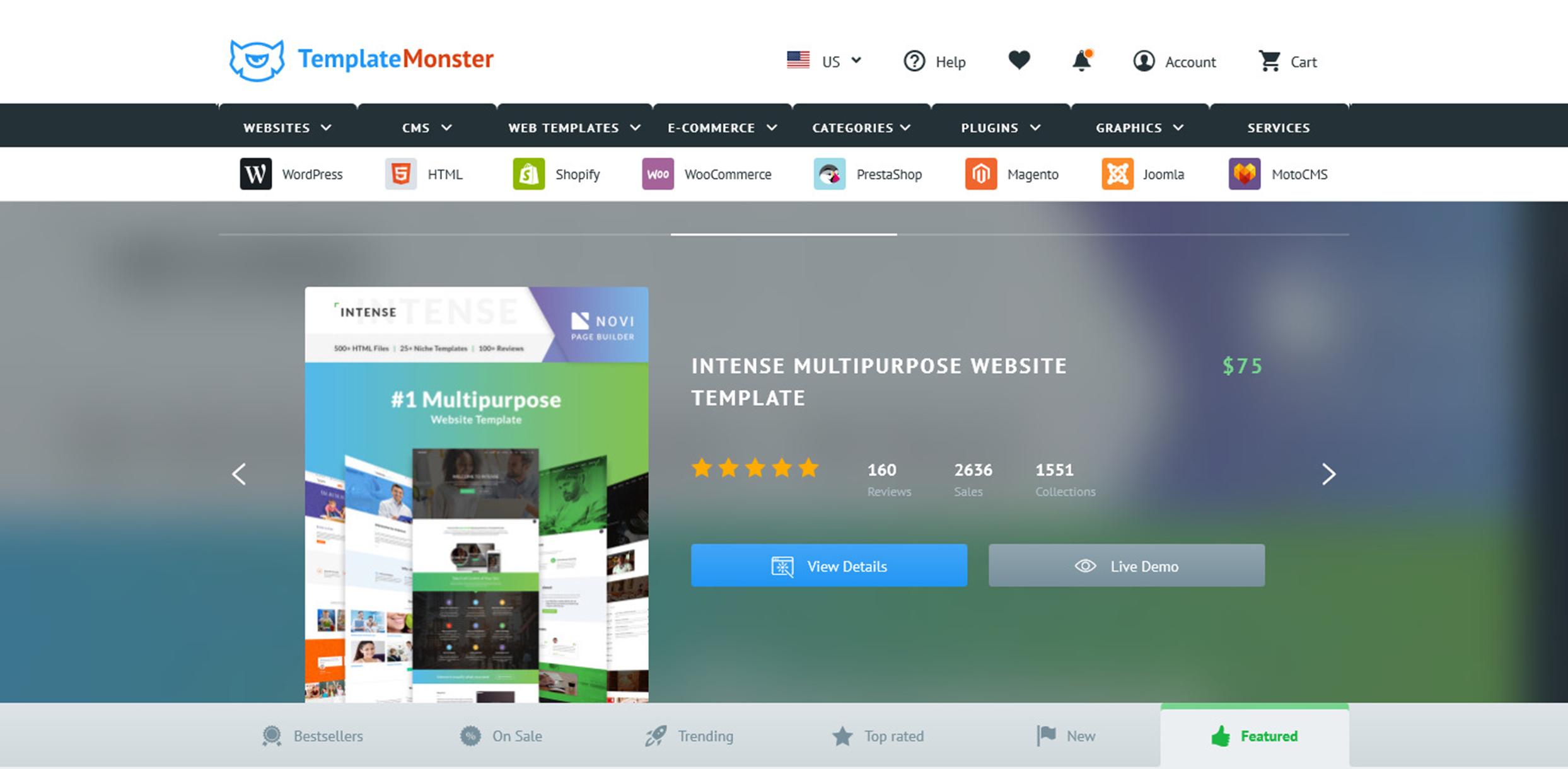 WordPress Deals and Discounts for Halloween 2018 - TemplateMonster
