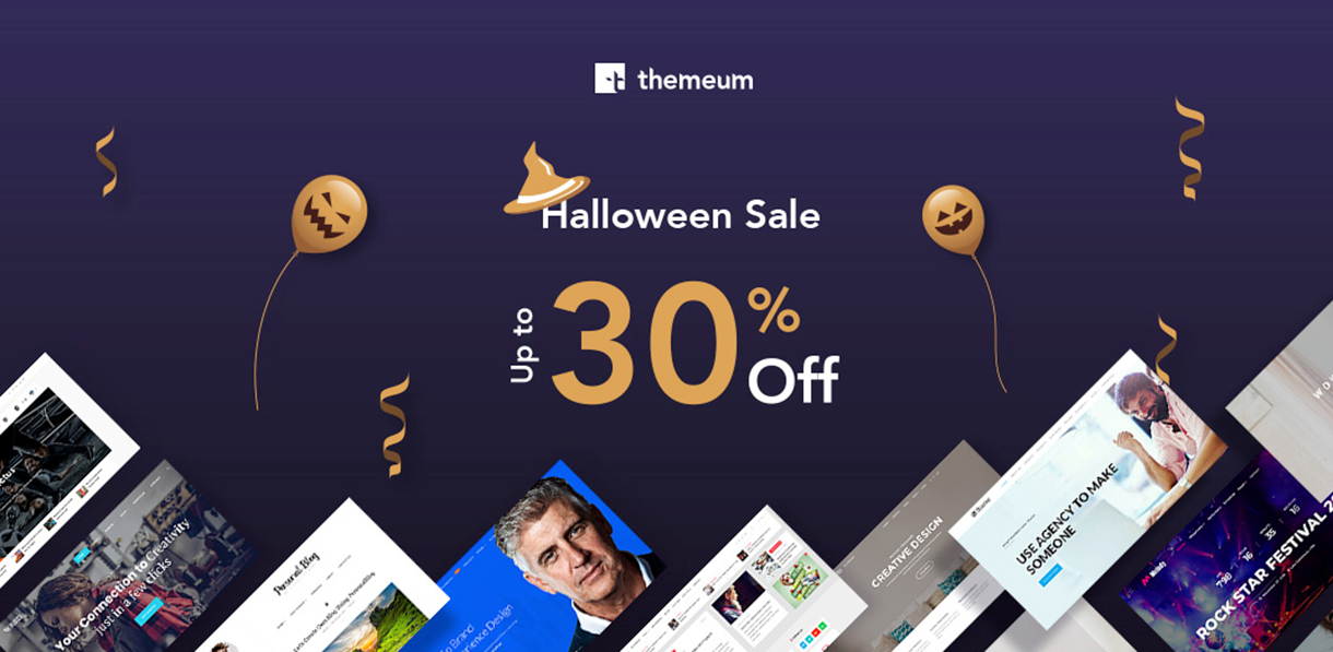 themeum halloween offer - Best WordPress Deals and Discounts for Halloween 2018 (Upto 50% Off)