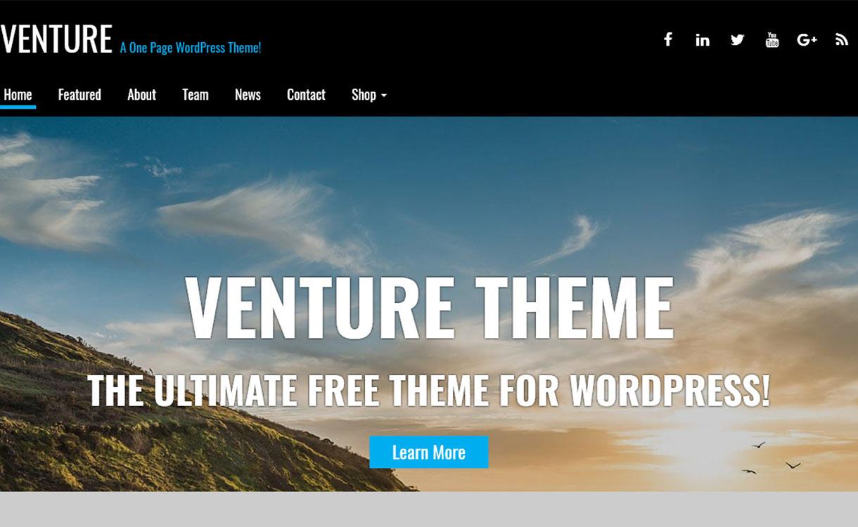 venture-best-premium-parallax-wordpress-theme