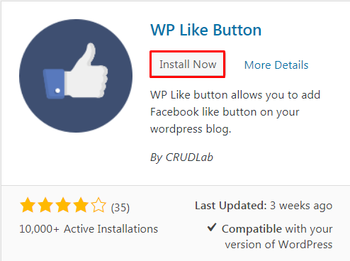Add Facebook Like Button in WordPress. - How to Add Facebook Like Button in WordPress?