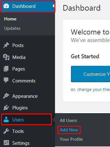 Add a new WordPress admin user - How do I add a new WordPress admin user?
