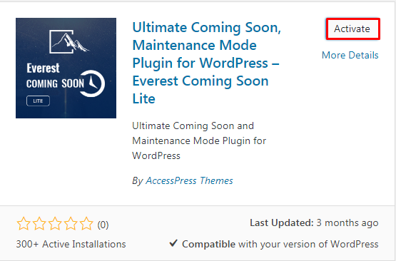 Create Beautiful Coming Soon Page using Everest Coming Soon Lite 7 - How to create a beautiful coming soon page in WordPress?