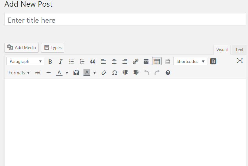 Saving post as draft in WordPress