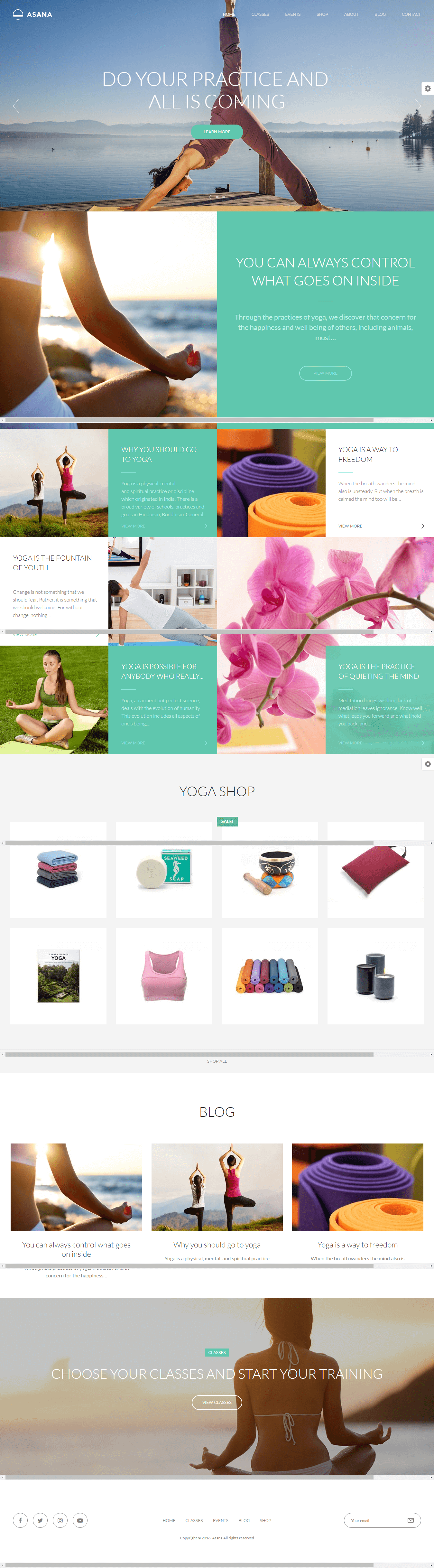 Asana -Best Premium Sports WordPress Theme
