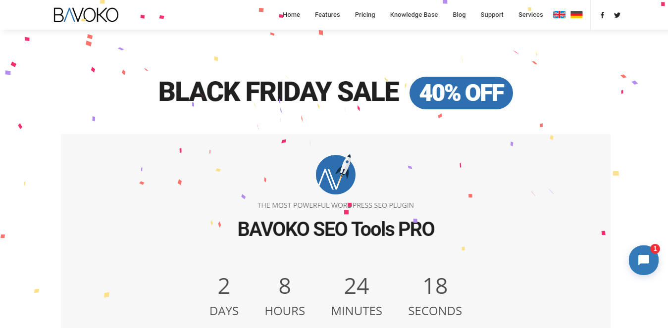 bavoko blackfriday cybermonday deals - Best Black Friday & Cyber Monday Deals and Discounts on WordPress Themes, Plugins and Hostings 2018 (Upto 50% Off)