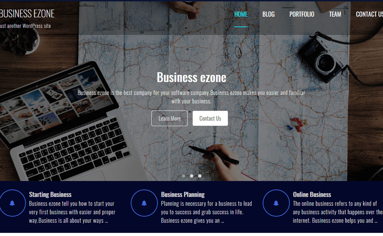 business-ezone-best-free-sports-wordpress-theme