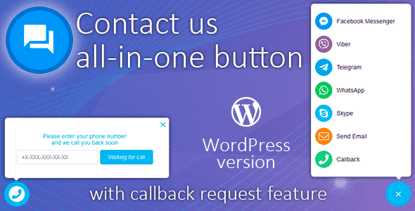 Best WordPress Plugins to Add Live Chat and Call Buttons - Call Us All-in-One Button