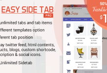 50% Off on Easy Side Tab Pro