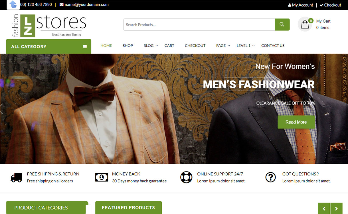 lz-fashion-ecommerce-best-free-fashion-wordpress-theme