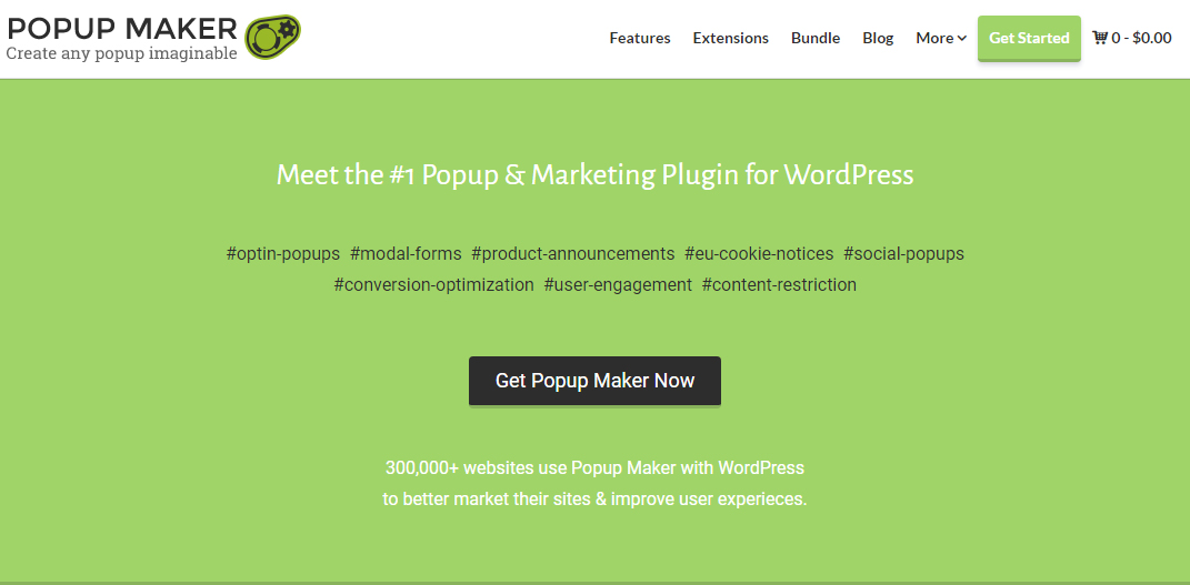 popup maker blackfriday cybermonday deals - Best Black Friday & Cyber Monday Deals and Discounts on WordPress Themes, Plugins and Hostings 2018 (Upto 50% Off)