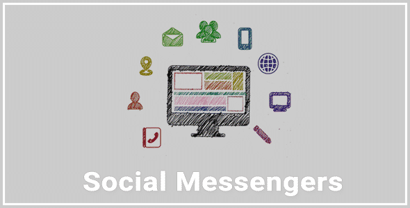 social messengers - 5+ Best WordPress Plugins to Add Live Chat and Call Buttons (Premium Version)