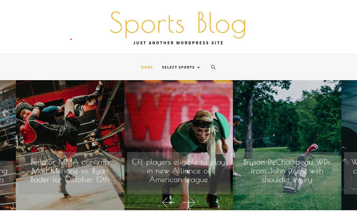 sportsblog-best-free-sports-wordpress-theme