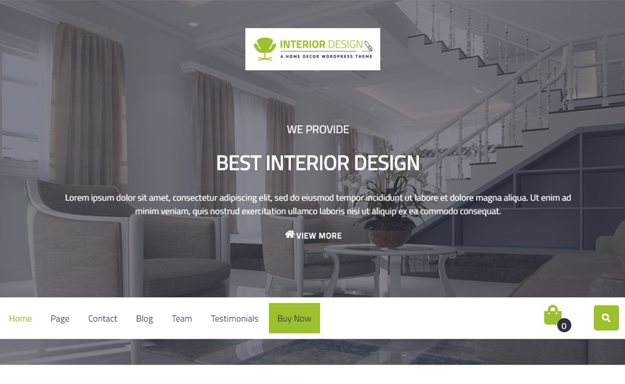 10 Best Free Interior Design Wordpress Themes Wpall Club