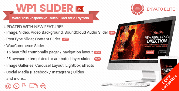 wp1 slider - How to add beautiful image slider in your WordPress website with WP1 Slider Pro? (Step by Step Guide)