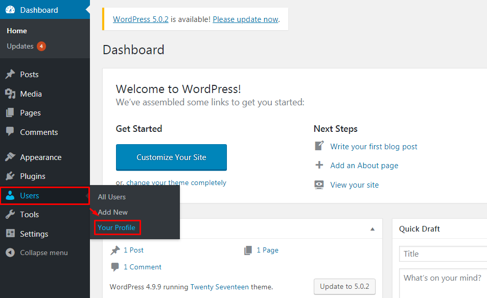 Blog Anonymously in WordPress.
