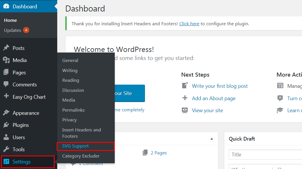 How to Add Scalable Vector Graphics in your WordPress site 5 - How to Add Scalable Vector Graphics in your WordPress Site?