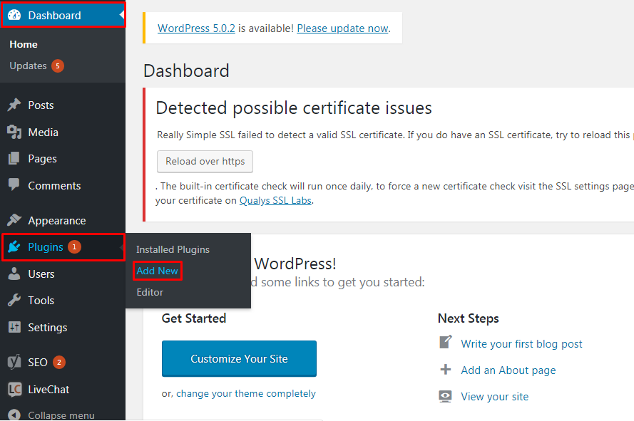 Install a New Plugin to the WordPress Site. - How to Install New Plugin to the WordPress Site?