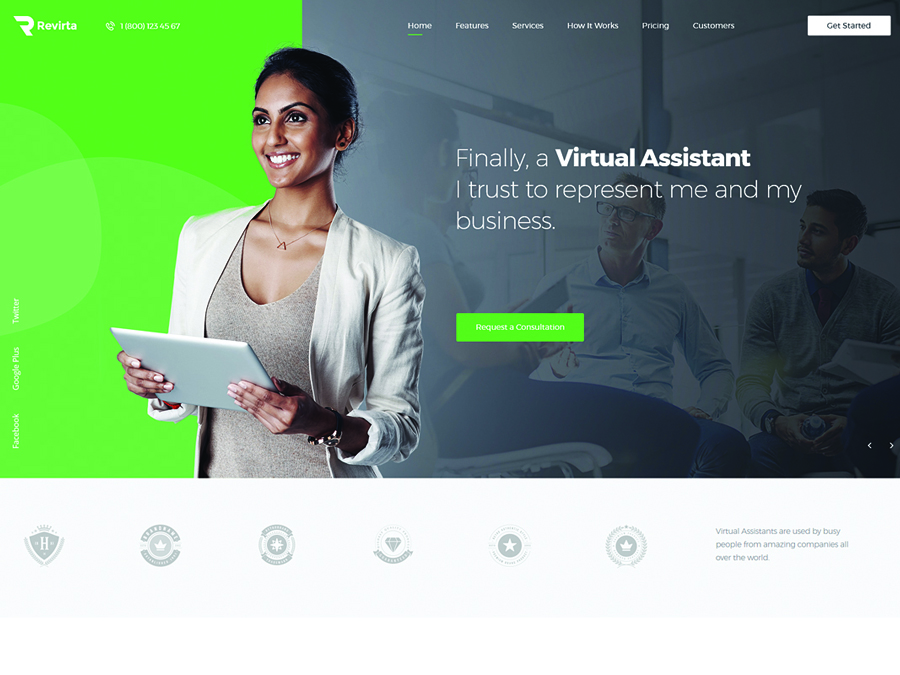Revirta Virtual Assistant WordPress Theme - Switching to the Leading WP Editor with 20 Gutenberg Compatible WordPress Themes