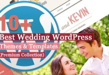 Best Premium Wedding WordPress Themes and Templates