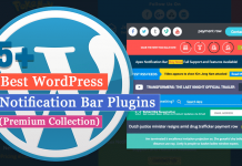 5+ Best WordPress Notification Bar Plugins (Premium Collection)