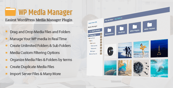 Best WordPress Media Manager Plugin: WP Media Manager