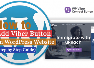 How to Add Viber Button on your WordPress website?