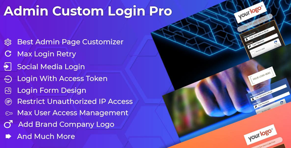 admin custom login pro - 5+ Best WordPress Custom Login Page Plugins (Premium Collection)